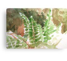 Fern Hands Canvas Print