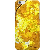 Happy Yellow Leaf iPhone Case/Skin
