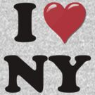 I Heart / Love NY by HighDesign