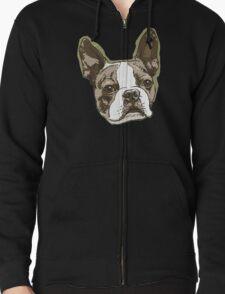 Boston Terrier Head T-Shirt
