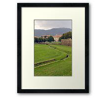 Lucca sights Framed Print