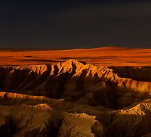 Sunset over Badlands National Park .5 by Alex Preiss