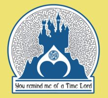 Time Lord King parody Baby Tee