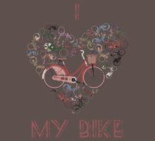 I Love My Bike Kids Clothes