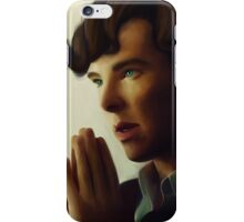 Sherlock - Think iPhone Case/Skin