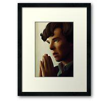 Sherlock - Think Framed Print