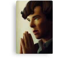 Sherlock - Think Canvas Print