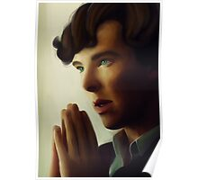 Sherlock - Think Poster