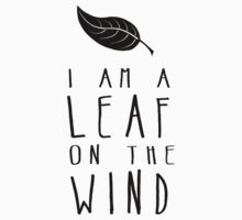 I am a Leaf on the Wind by Rebecca Tyrrell