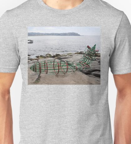 Zeppelin Crash @ Sculptures By The Sea 2012 Unisex T-Shirt
