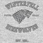 Winterfell Direwolves Winter Finals by That1Guy
