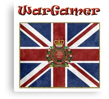 WarGamer - British 1805 Napoleonic Period Canvas Print