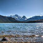 Banff mountains and beautiful lake by RainaRaina