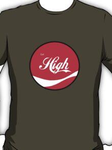 High Gear - Get High Cola Round Red T-Shirt