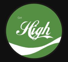 High Gear - Get High Cola Round Green by Scalawag