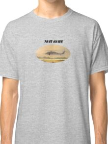Pave Hawk Helicopter HH-60 On A Mission Classic T-Shirt