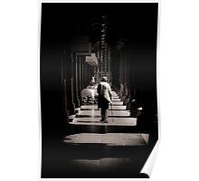Walking through time Poster