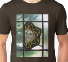 sunny window stained glass Unisex T-Shirt