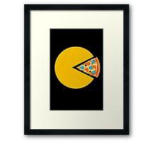 Pizza-man Framed Print