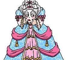 headless marie antoinette by lesincroyables