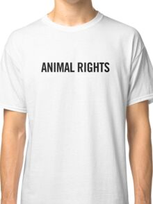 Animal Rights Classic T-Shirt