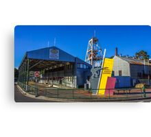 Central Deborah Gold Mine - Bendigo, Victoria Canvas Print