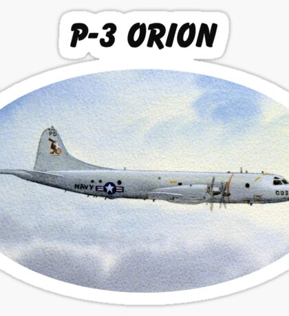 P-3 Orion Aircraft Sticker