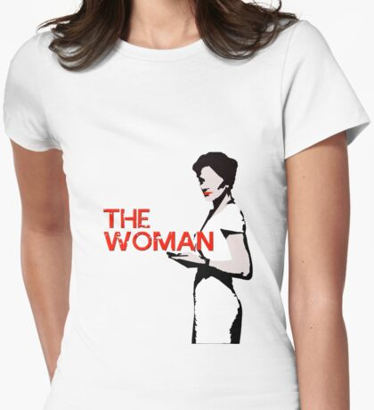 The Woman  Womens Fitted T-Shirt