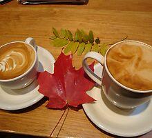 Autumn coffee by Eugenia Gorac