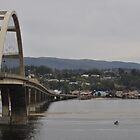 Coming Into Waldport Oregon by scenebyawoman
