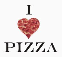 I Heart Pizza by MeisWaffles
