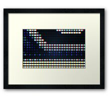 >ASSIMILATION COMPLETE Framed Print