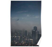 Morning Mist Gold Coast © Vicki Ferrari Poster