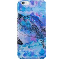 india ink purple  iPhone Case/Skin