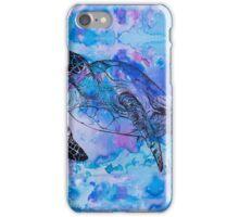 india ink purple  iPhone Case/Skin