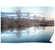 Dorchester Lake, Upper Lisle, NY Poster