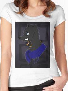 Sherlock Pup Women's Fitted Scoop T-Shirt