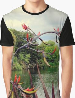 The River (O0615tr) Graphic T-Shirt
