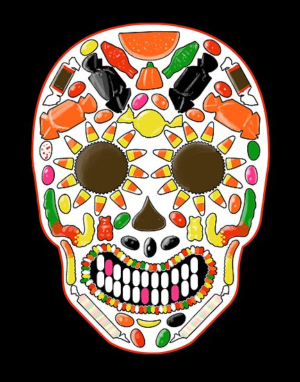 Candy Skull by qetza