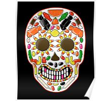 Candy Skull Poster