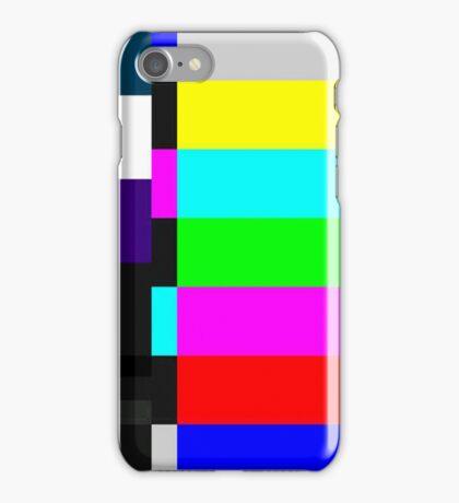 TV screen iPhone Case/Skin