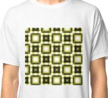 Yellow Squared Classic T-Shirt