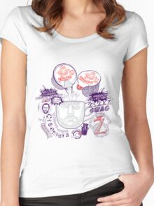 Zizek's Without-cream Creamer Women's Fitted Scoop T-Shirt