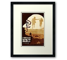 A Town Called Mercy Framed Print