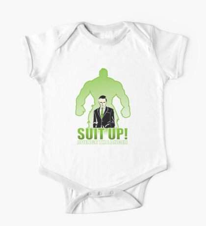 Suit up One Piece - Short Sleeve
