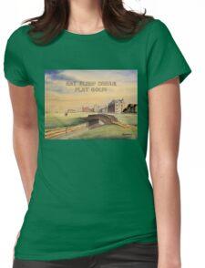 Eat Sleep Dream Play Golf  Womens Fitted T-Shirt