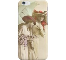 Two Fashionable Ladies iPhone iPhone Case/Skin