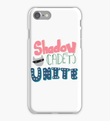 Shadow Cadets Unite! iPhone Case/Skin