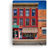 Small Town America Canvas Print