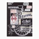 Railroad Revival Tour Tshirt design01 by anne-provost